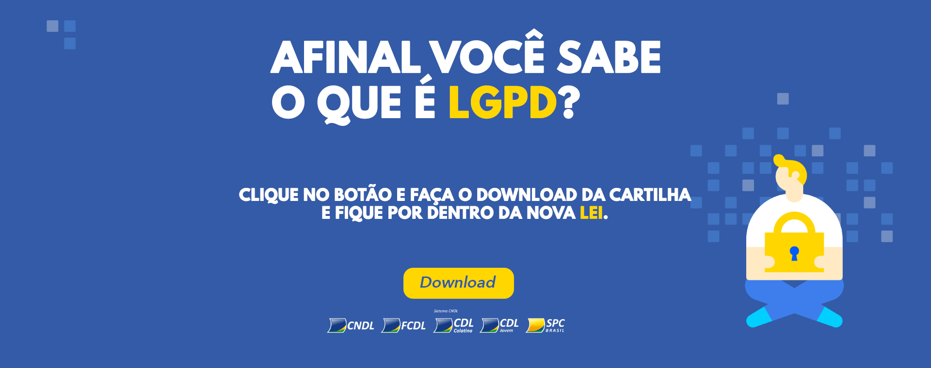 Banner LGPD Site